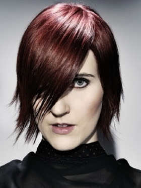 peinado cabello medio adolescente