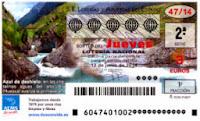 Sorteo 47 de la Lotería Nacional del jueves 12 de junio de 2014
