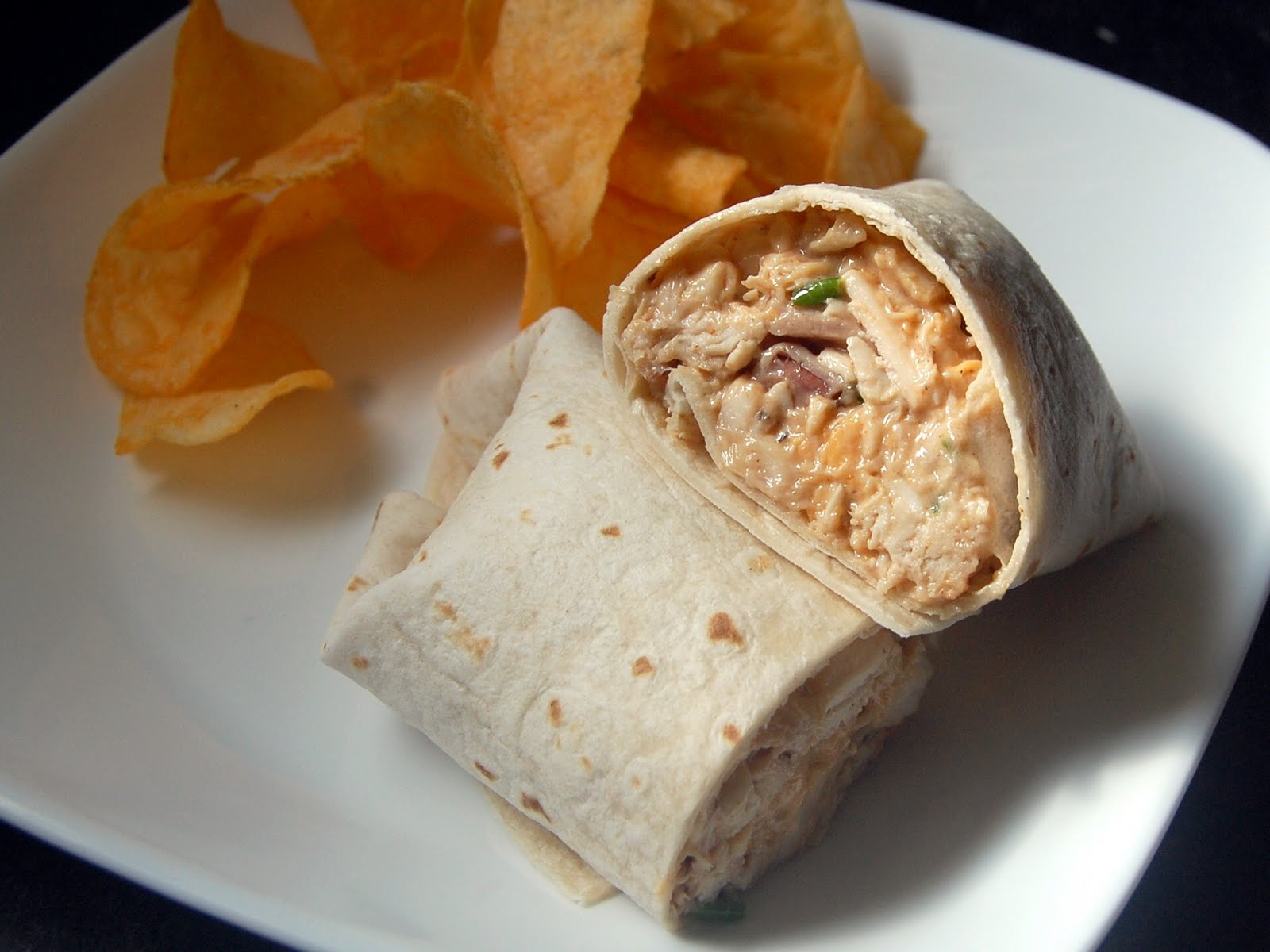 Cassie Craves: BBQ Cheddar Bacon Ranch Chicken Salad Wraps