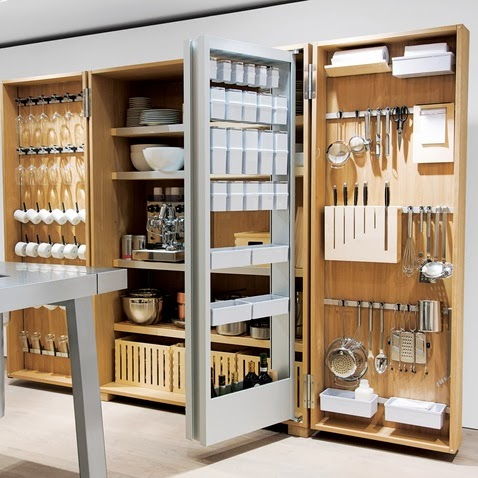 Kitchen Cabinet Organized Idea