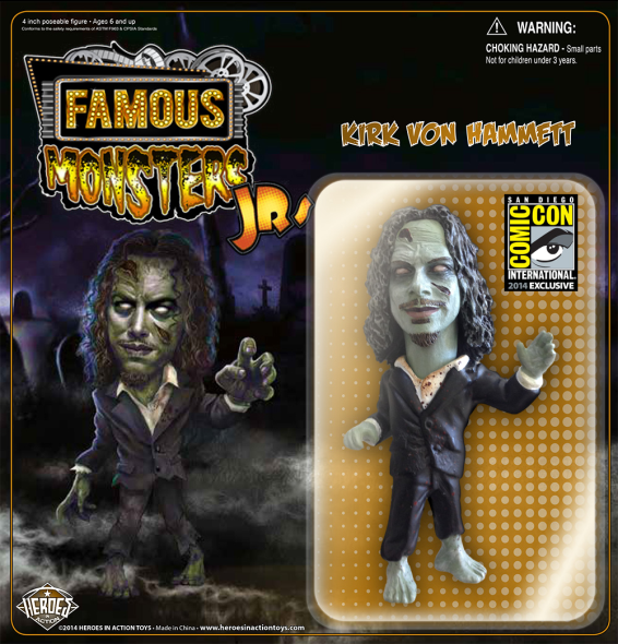 Kirk Hammett zombie figure