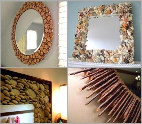 Креативное оформление зеркала своими руками - Биметалл Плюс