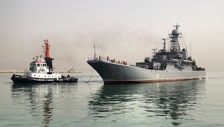 In a First, a Russian Warship Docks in Israel