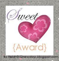 Sweet Award!