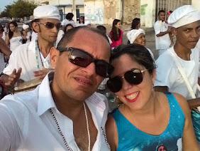 Mariano e sua esposa Suellen
