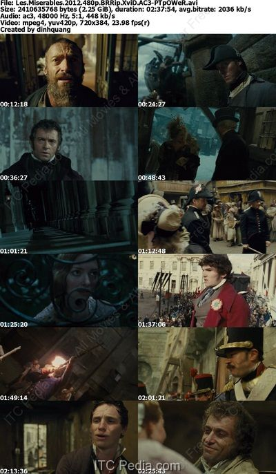 Les Miserables 2012 BRRip XviD AC3 - SANTI