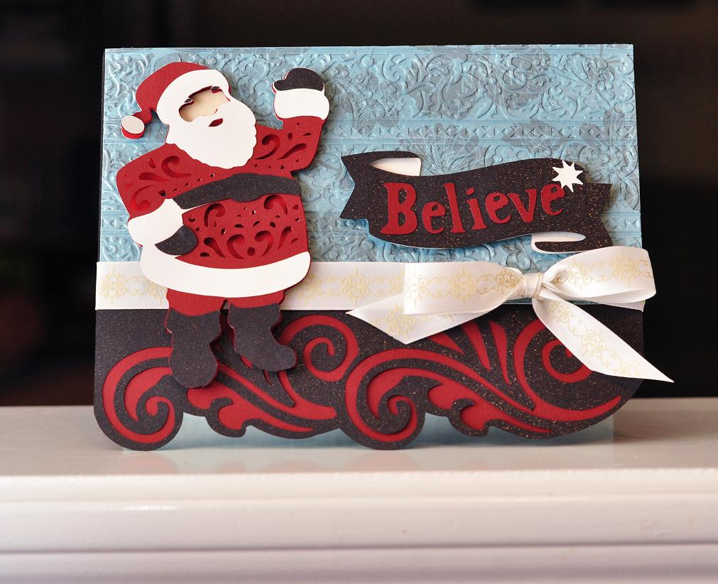 Ginger Williams A Cricut Quilted Christmas And A Stamping