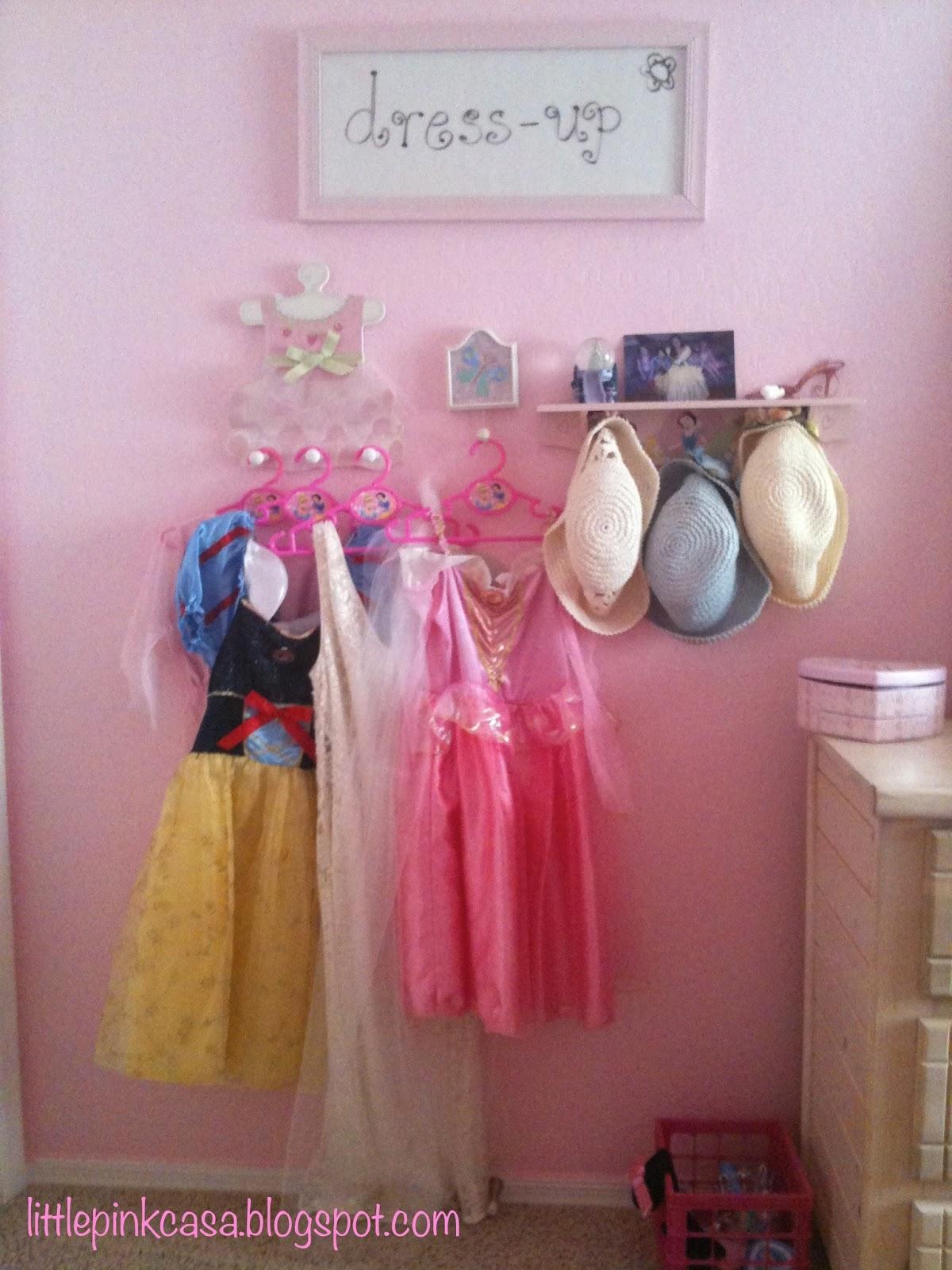 dressup area Little Pink Casa