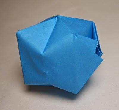origami water bomb