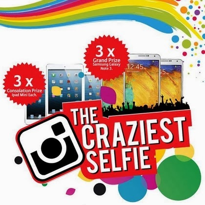 Allianz The Craziest Selfie Contest 2014
