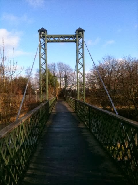 Dockwray Foot bridge, Kendal, Cumbria