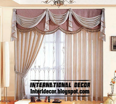 best curtain models 2015, unique draperies model 2015, door curtains designs