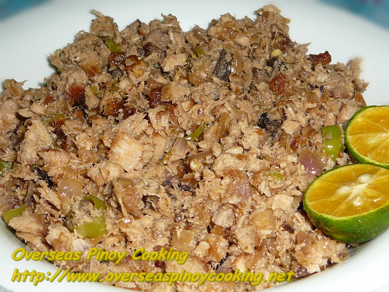 how to make tuna sisig