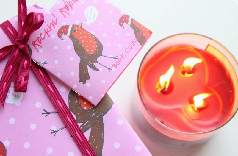 Bomb Cosmetics Rockin' Robin Gift Set