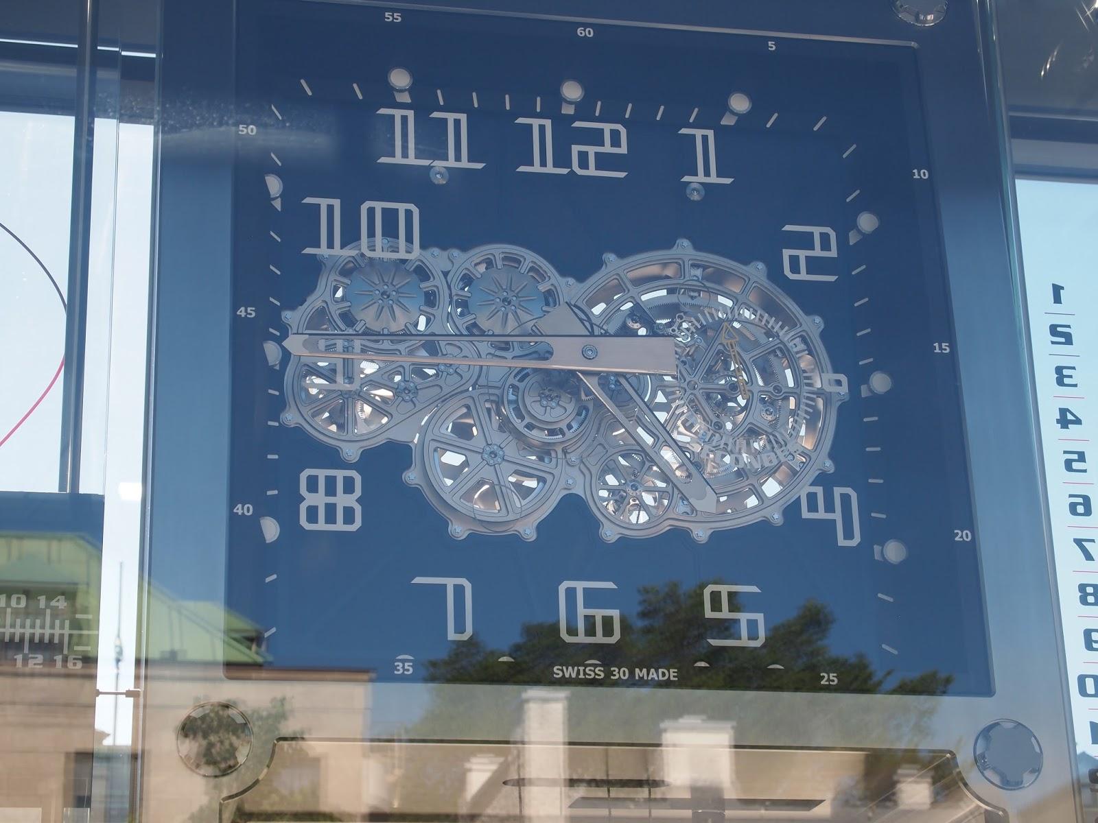 Number 16 Amazing Swiss clock in Quebec City