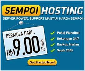 domain hosting murah harga sempoi