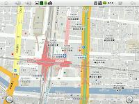 Maps (+)画面