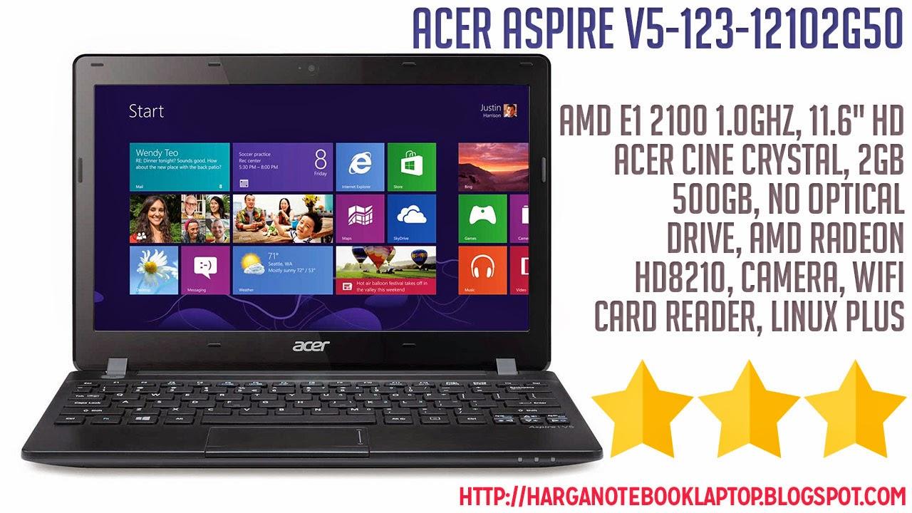 Spesifikasi Amp Review Acer Aspire V5 123 12102G50 NSS