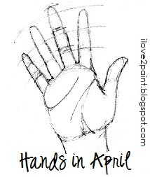 April's hands