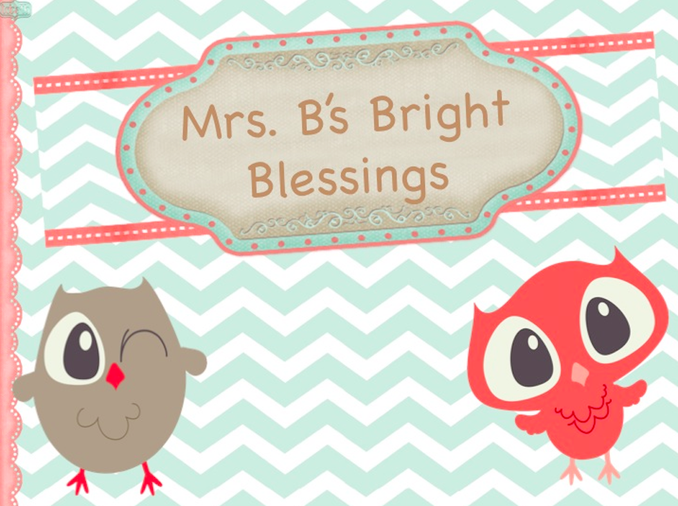 Mrs. B's Bright Blessings