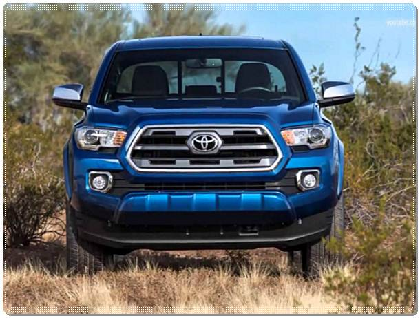 2017 Toyota Tacoma Diesel Specifications