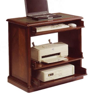 3 mesas de ordenador cl sicas for Mueble para cpu