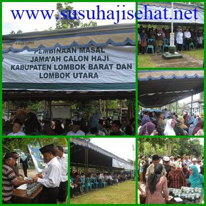 SUSU HAJI SEHAT di Kabupaten Lombok barat dan Lombok Utara