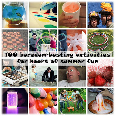 100 boredom-busting activities for hours of summer fun