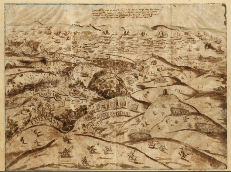 La bataille d'Alcántara 25 août 1580
