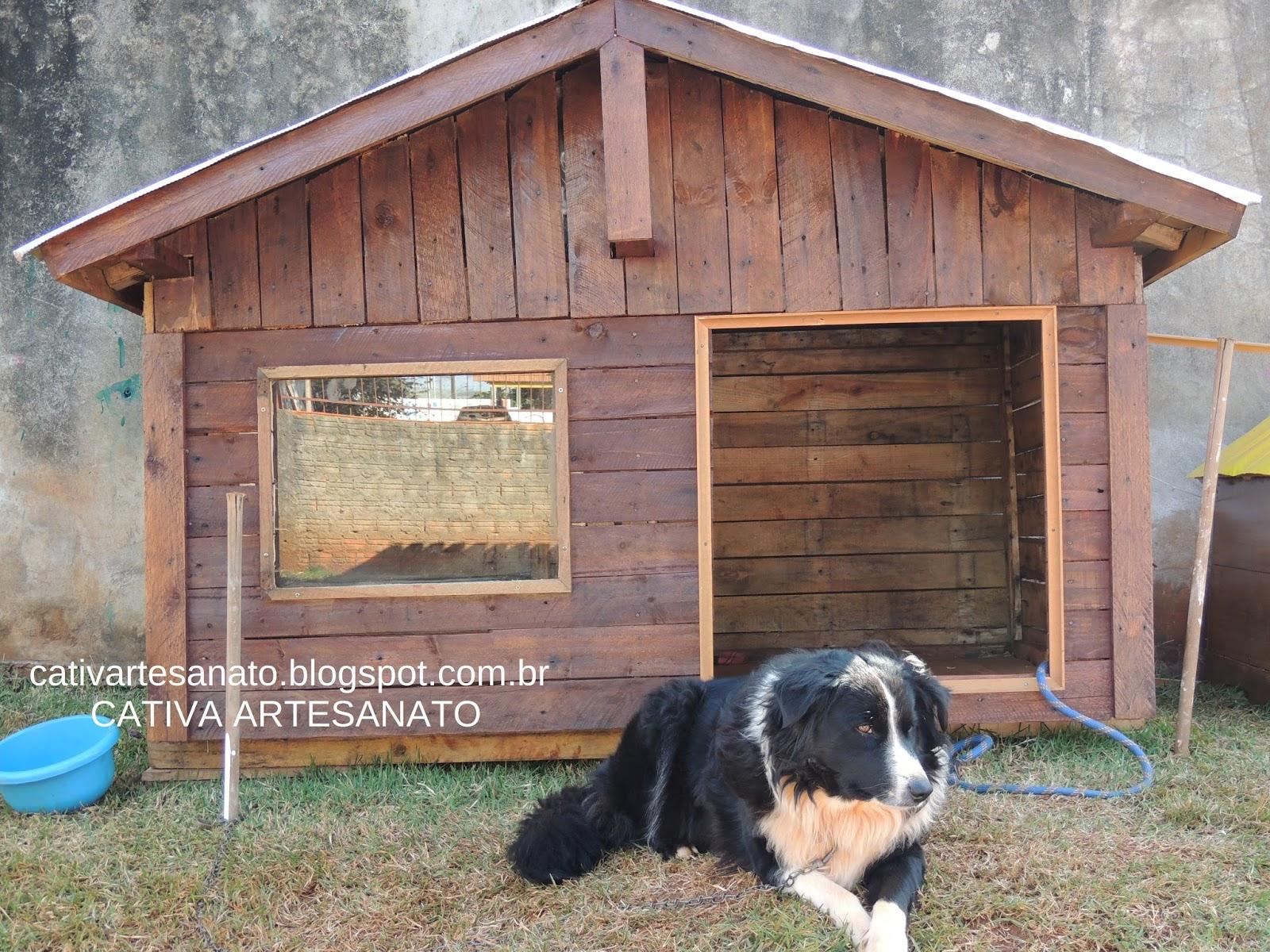 Conhecido cativa artesanato: Casinhas alternativas para cães e gatos com  ED95