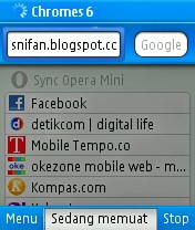 Opera Mini Chrome Co-Exist V6.0.24096 Three