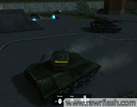 Jogos de tank, guerra e tiro: Tanki Online.