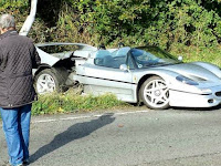 Kecelakaan Rp16,4 Miliar Libatkan Ferrari Langka