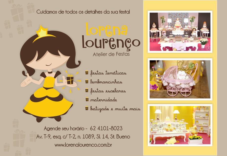 Lorena Lourenço - Atelier de Festas