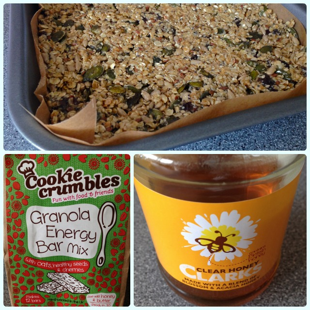 Clark's Honey and Cookie Crumbles Baking Kits