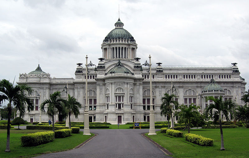 Tourism in Thailand.: Ananta Samakhom Throne Hall