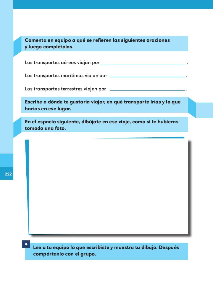 Los transportes español 2do bloque 5/ 2014-2015