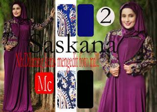 Saskana 2 Maxi Dress