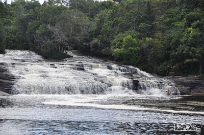 waterfal in bahia brasil