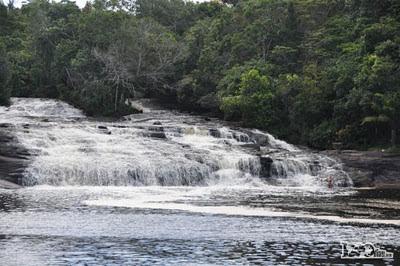 waterfal in bahia brasil