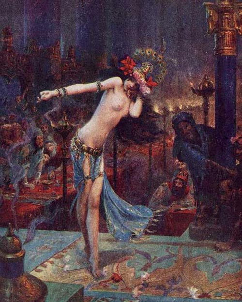 salome bussière painting