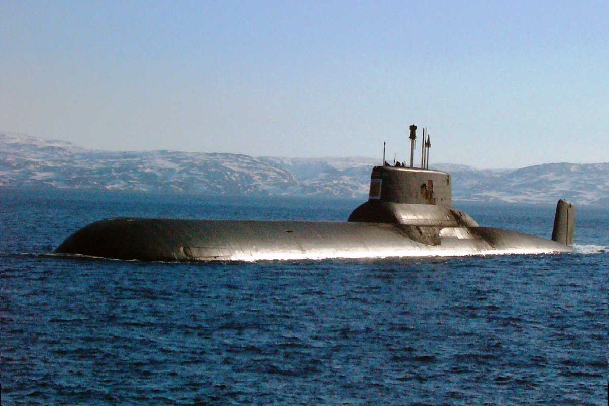 RFS Dmitry Donskoy TK-208 Russian Submarine 3