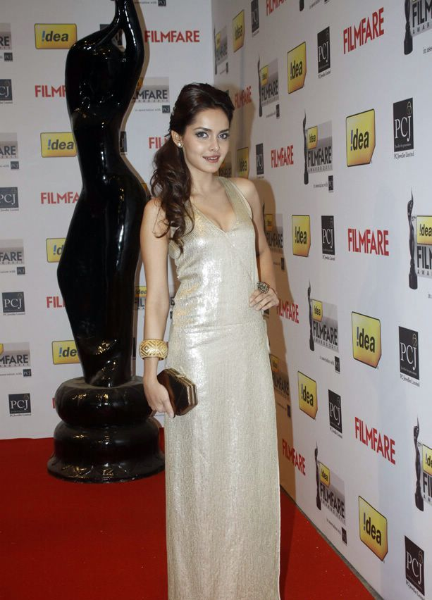 Shazahn Padamsee1 - Shazahn Padamsee At 57th Idea Filmfare Awards 2011