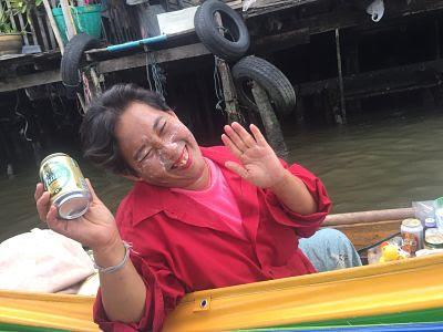 Tailandia. Bangkok. Canal.
