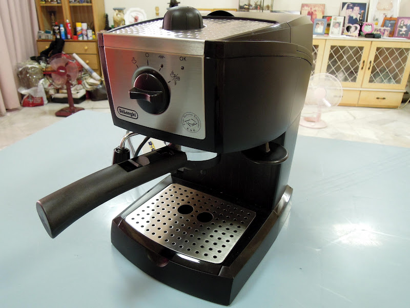 A Coffeeholic's Travel Tale: My New Toy - DeLonghi EC155 Espresso ...