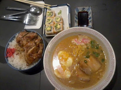 Japanese food at Tokyo Tokyo