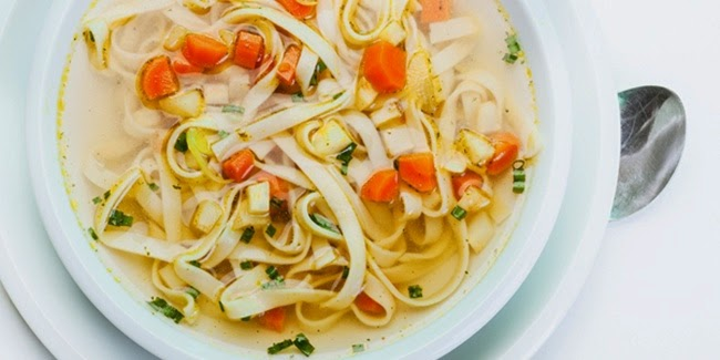 Resep Sup Mie Sayuran Sehat