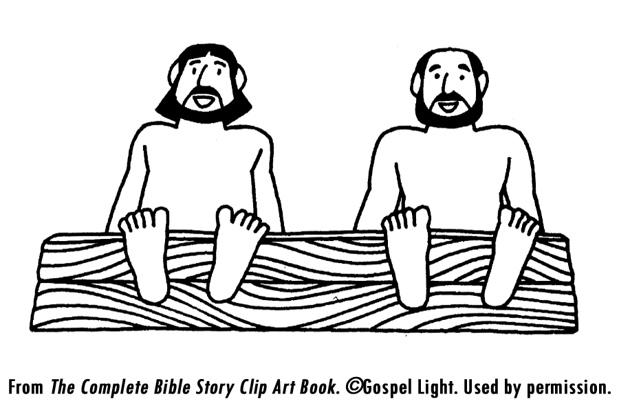 the philippian jailer coloring pages - photo#19