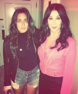 Jesse Jo Stark and Cher
