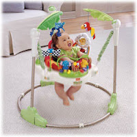 Enter to win a Fisher-Price Rainforest Jumperoo